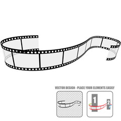 Vector Film Roll #6