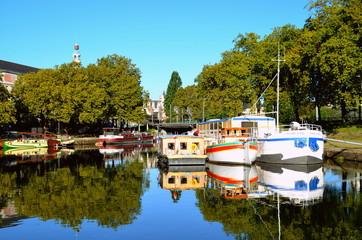 Canal saint félix ville de Nantes