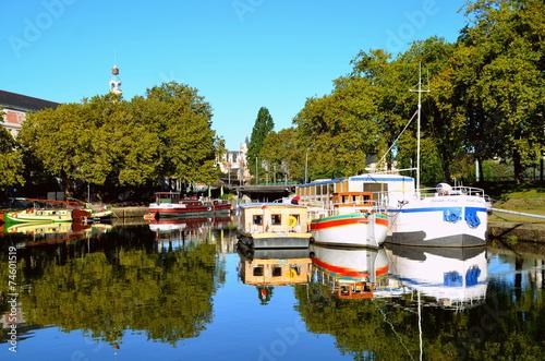Canal saint félix ville de Nantes - 74601519