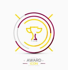 Award icon, logo