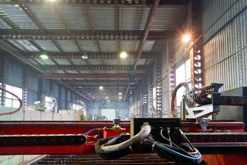 cutter of plasma torches cutting machine