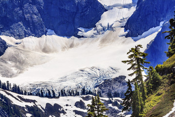 Mount Shuksan Glacier Artist Point Washington State