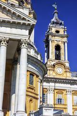 Basilica of Superga detail - Turin - Italy