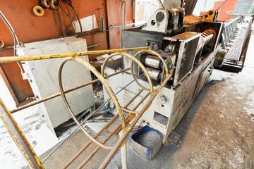 reinforcement steel cutting and bender machine