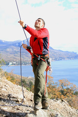 Training of alpinist
