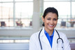 Smiling confident healthcare professional - 74606526