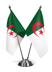 Algeria - Miniature Flags.