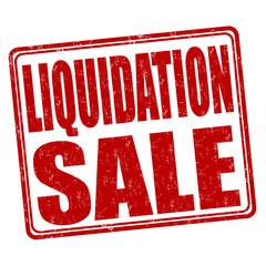 Liquidation sale stamp