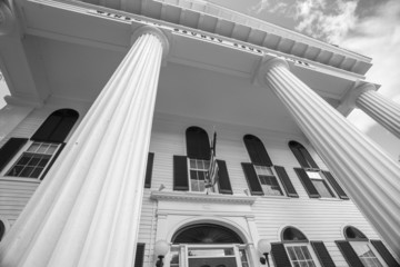Architectural detail of Windom County Courthouse,Newfane.