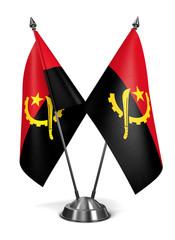 Angola - Miniature Flags.