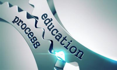 Education Process on the Cogwheels.