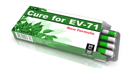 Cure For EV-71, Green Open Blister Pack.