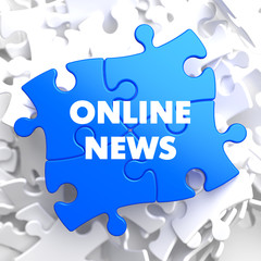 Online News on Blue Puzzle.