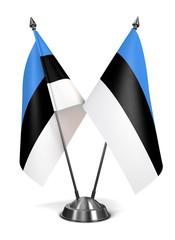 Estonia - Miniature Flags.