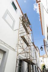 Works in Evora, Portugal