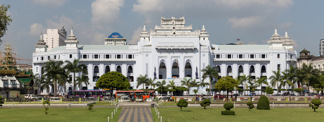 City Hall of Yangon, Myanmar
