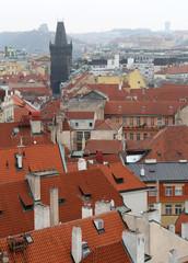Prague roof tops (Old Town district), Czech Republic