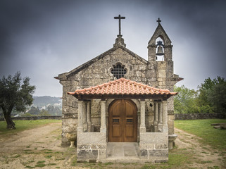 ancient church of Saint Martin of Balugães - Barcelos Portugal