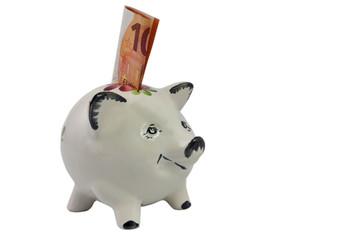 Sparschwein für Kleinsparer