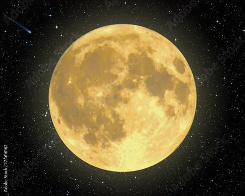 Fototapeta Majestic Moon