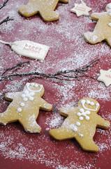 Merry Christmas festive baking concept