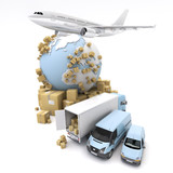 International goods transport - 74617177