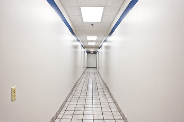 Long Intimidating Hallway