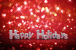 Christmas glitter background - Happy Holidays - 74618376