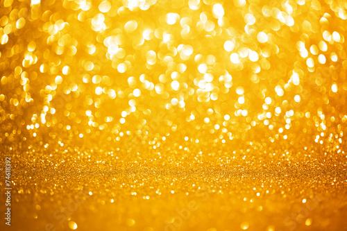 Tło złote światła
