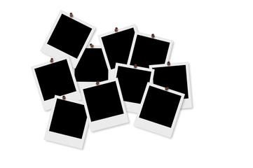 Blank Polaroid Photo Frames