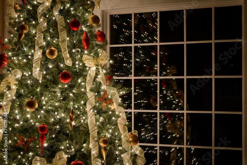 Tuinposter Bomen Christmas Tree