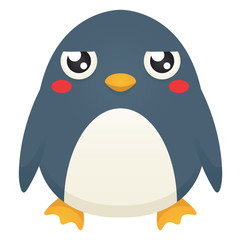 Unimpressed Penguin