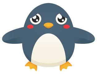 Sad Hug Penguin