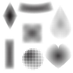 halftone objects