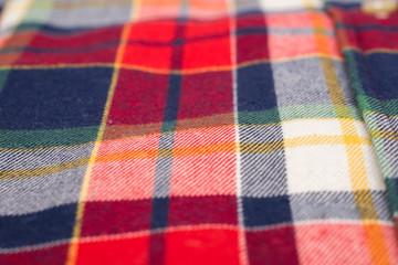 Retro Casual Man Shirt Texture Closeup