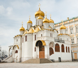 The Cathedral of the Annunciation, Moscow Kremlin, Russia