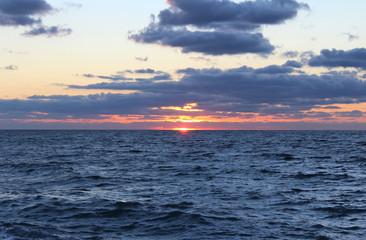 Sea, Sun and Clouds