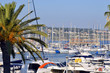 Port of Bandol in France