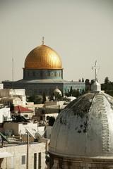 Die Dächer von Jerusalem