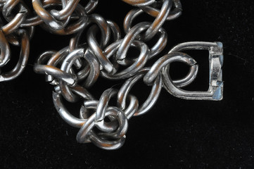 Silver Chain Texture