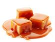 caramel candies and caramel sauce - 74624756