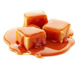 caramel candies and caramel sauce