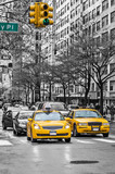 New York yellow taxi cabs - 74625138