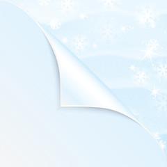 New Year and Christmas snow background