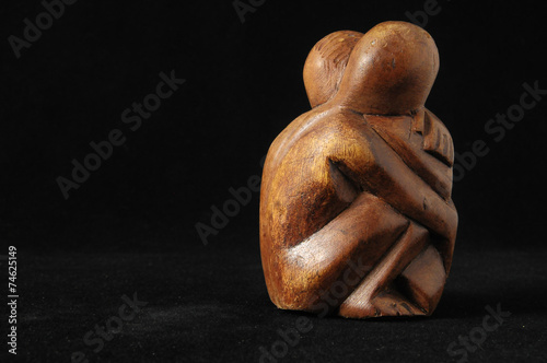 canvas print picture Lovers Sculpture