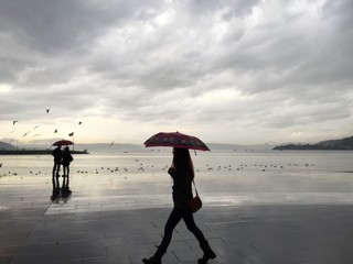 Yağmurda Yürüyüş
