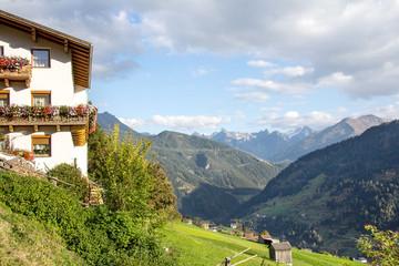 Fliess, mountain village in Tyrol