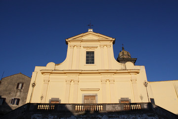 Chiesa, Facciata