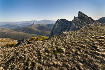 Cerro de San Cristobal en la Sierra Norte