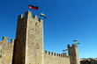 The wall of Montblanc, Catalonia. Medieval Week of Saint George